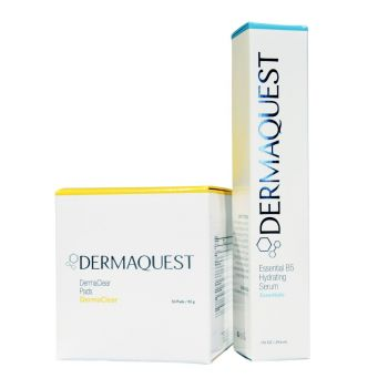 DermaQuest Pads + Essential B5 Hydrating Serum Duo
