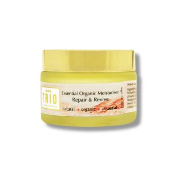 Trio Essential Organic Moisturiser Repair & Revive