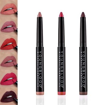 Youngblood Color-Crays Matte Lip Crayons