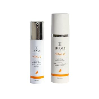 Image Skincare Vital Serum and Cleanser Duo