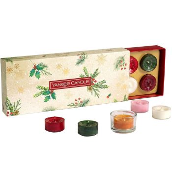 Yankee Candle Magical Christmas Morning Ten Tealights and Holder Gift Set